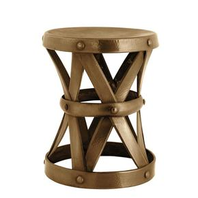 Antique Brass M Stool | Eichholtz Veracruz