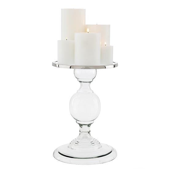 Glass candle holder   l   eichholtz providence eichholtz by oroa treniq 1 1505736548603