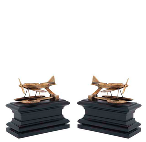Brass-Bookend-(Set-Of-2)-|-Eichholtz-Hydroplane_Eichholtz-By-Oroa_Treniq_0