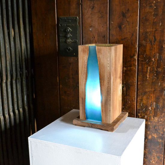 Resin River Lamp Treniq
