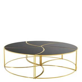 Black Glass Coffee Table | Eichholtz Carter