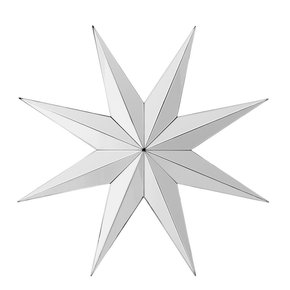 Decorative Star Mirror | Eichholtz Prisma