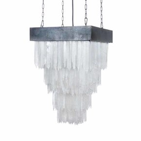 Selenite Chandelier Square - Cravt original - Treniq