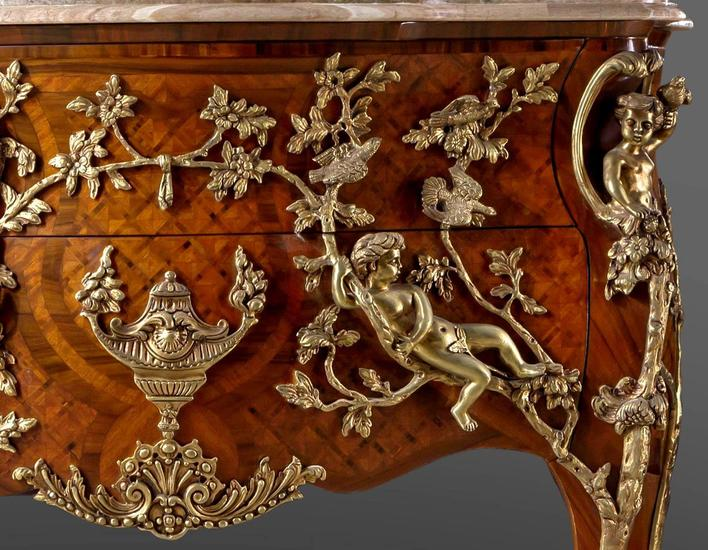 Charles cressent ormolu commode antique taste treniq 6 1506580372403