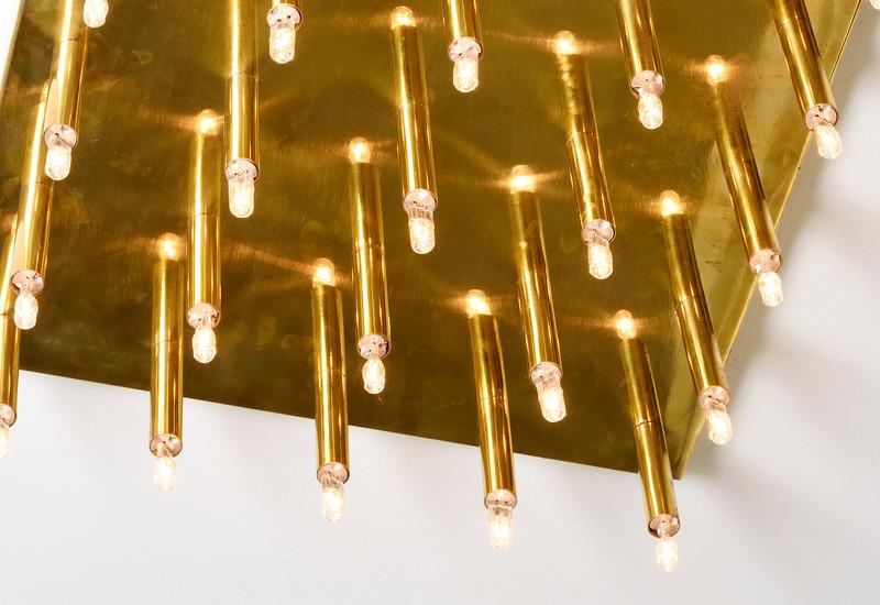 Sputnik ceiling lamp aurum treniq 4