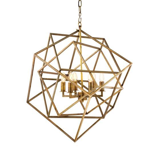 Gold cubist chandelier   eichholtz matrix eichholtz by oroa treniq 1 1506934039389