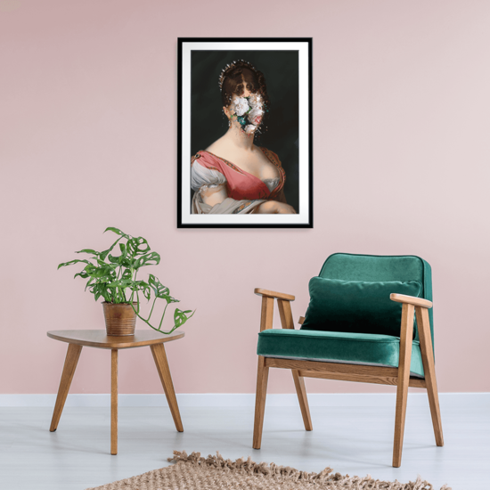 Horticultural hortense framed print prince   rebel treniq 1 1506967323376