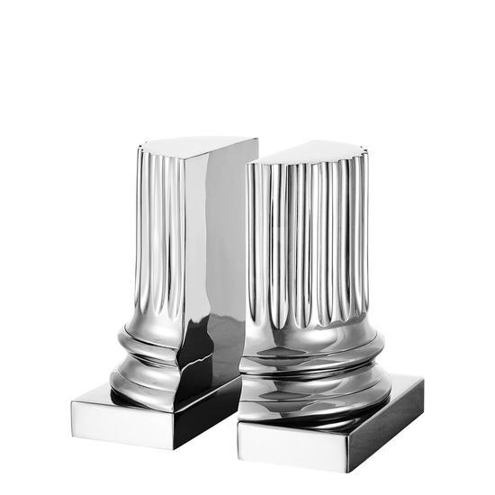 Silver bookends (set of 2)   eichholtz pillar eichholtz by oroa treniq 1 1506986064840