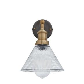 Brooklyn-Vintage-Antique-Ribbed-Glass-Retro-Funnel-Wall-Sconce_Industville_Treniq_0