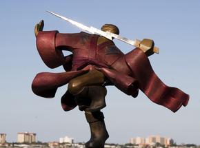 The-Galactic-Samurai_Nina-Winters-Sculptures_Treniq_2