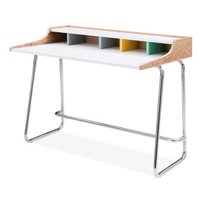 Cult-Design-Phoenix-Home-Office-Desk,-Ash-Wood-And-Steel,-Pastel_Cult-Furniture_Treniq_0