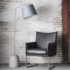 Tall-Grey-Floor-Lamp-With-Concrete-Base._Elderflower-Lane_Treniq_0