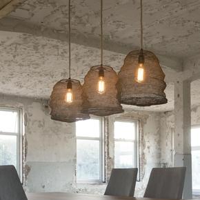 Trio-Of-Antiqued-Bronze-Hanging-Pendant-Lamps._Elderflower-Lane_Treniq_0