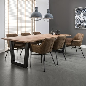 Large-Wooden-Topped-Industrial-Dining-Table.-Gun-Metal-Steel-Legs._Elderflower-Lane_Treniq_0