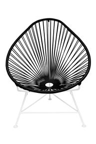 Acapulco Chair On White Frame