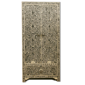 Indian-Handmade-Black-Floral-Design-Bone-Inlay-Cupboard-Or-Wardrobe_Shakunt-Impex-Pvt.-Ltd._Treniq_0