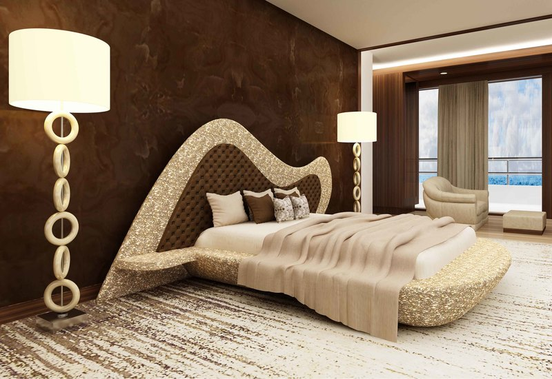 Anvi Lush Luxury Bedroom Set- Imperial Luxury Bed - Treniq