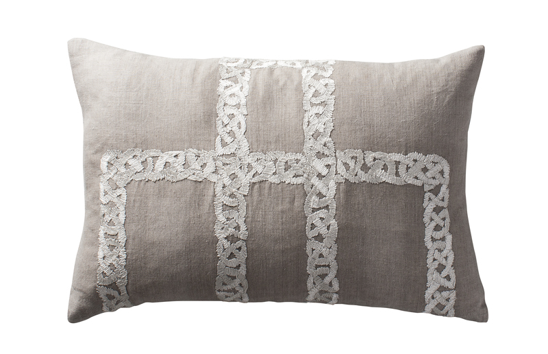La t%c3%a8ne embroidered small lumbar cushion aztaro ltd. treniq 1 1509797386936