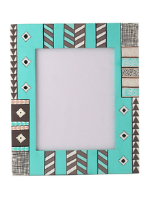 Hand-Painted-Soothing-Blues-Photoframe_Auraz-Design_Treniq_1