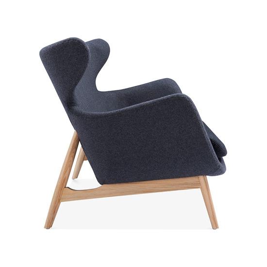 Cult design duchess winged 2 seater loveseat sofa cult furniture treniq 15 1509971855127
