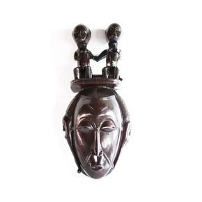 Mask-Baule-With-Twin-Statues-In-Headgear_Avana-Africa_Treniq_0