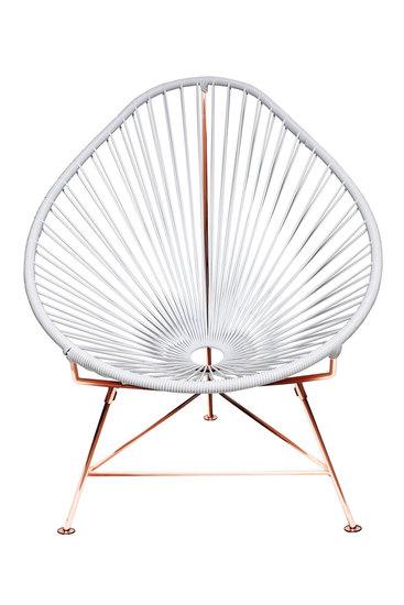 Acapulco chair   black weave on copper frame innit treniq 2 1510252422829