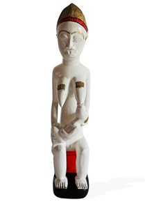 Statue-Baule-Maternity-Mother-With-A-Baby_Avana-Africa_Treniq_0
