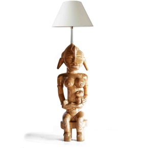 Senoufu-Maternity-Statue-With-One-Baby_Avana-Africa_Treniq_0