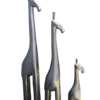 Metallic tall giraffe   steel grey avana africa treniq 1 1510573710374