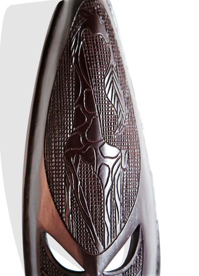 Ghanian dark giraffe mask avana africa treniq 1 1510587756981