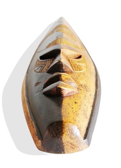 Ghanian double colored elephant mask avana africa treniq 1 1510588090512