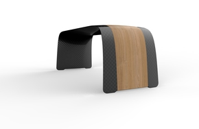 Medium-Carbon-Aero-Bench-1200-With-Wood-Veneer_Essence-Of-Strength_Treniq_3