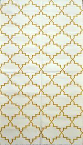 Anokhi-Gold-And-White_Ziva-Home_Treniq_0