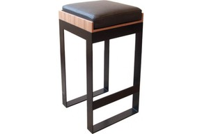 Severin-Stool-Black-Steel-&-Walnut_Alex-De-Rouvray_Treniq_0