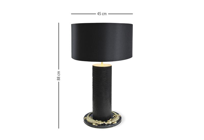 Reptilian table lamp koket treniq 5