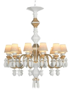 Belle-De-Nuit-12-Lights-Gold_Lladro_Treniq_0