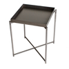 Iris square tray top side table gun metal top with gun metal frame gillmorespace limited treniq 1 1513171818100