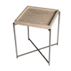 Iris square tray top side table weathered oak with gun metal frame gillmorespace limited treniq 1 1513172473921
