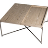 Iris square top coffee table weathered oak trays and gun metal frame gillmorespace limited treniq 1 1513172637205