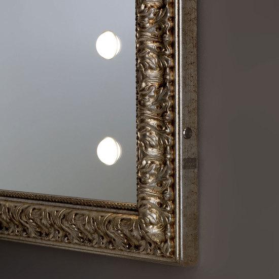 Lighted mirror mf193 gold leaf vintage chiara ferrari treniq 1 1513265491663
