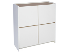 Essentials-White-With-Oak-Square-Sideboard_Gillmore-Space-Limited_Treniq_0