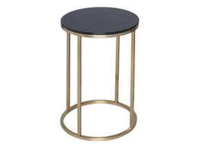 Kensal-Black-With-Brass-Base-Circular-Side-Table_Gillmore-Space-Limited_Treniq_0