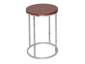 Kensal-Walnut-With-Polished-Base-Circular-Side-Table_Gillmore-Space-Limited_Treniq_0