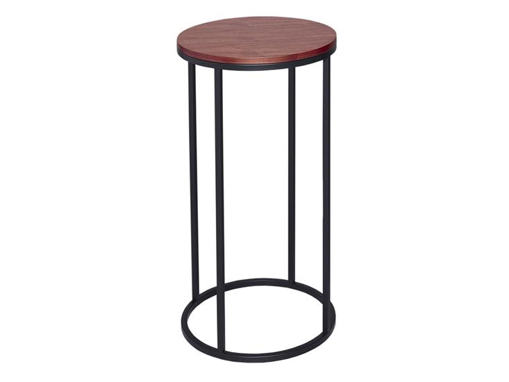 Kensal walnut with black base circular lamp stand gillmorespace limited treniq 1 1513339605936
