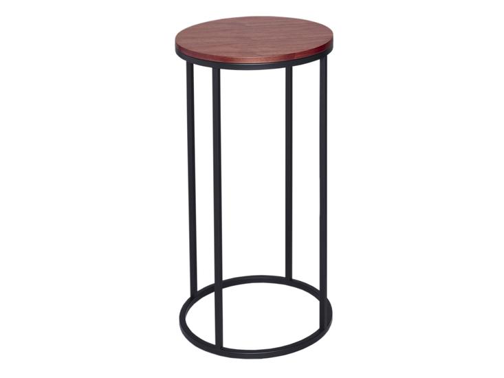 Kensal walnut with black base circular lamp stand gillmorespace limited treniq 1 1513339605940