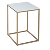 Kensal white with brass base square side table gillmorespace limited treniq 1 1513339890872