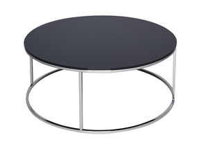 Kensal-Black-With-Polished-Steel-Base-Circular-Coffee-Table_Gillmore-Space-Limited_Treniq_0
