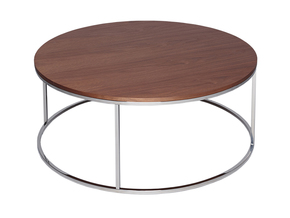 Kensal-Walnut-With-Polished-Steel-Base-Circular-Coffee-Table_Gillmore-Space-Limited_Treniq_0