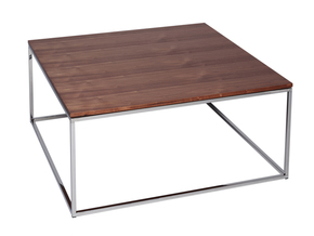 Kensal-Walnut-With-Polished-Steel-Base-Square-Coffee-Table_Gillmore-Space-Limited_Treniq_0