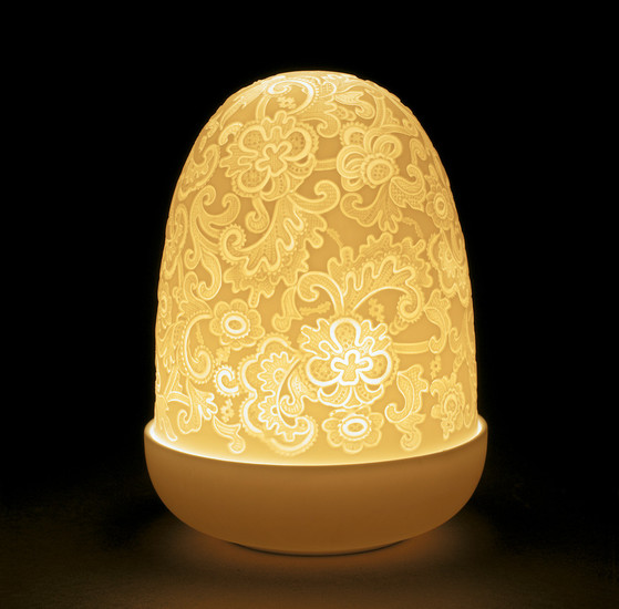 Lace dome lamp  lladro treniq 1 1513360565974